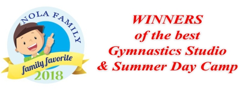 NOLA Family Best Gymnastics and Best Summer Camp Winners
